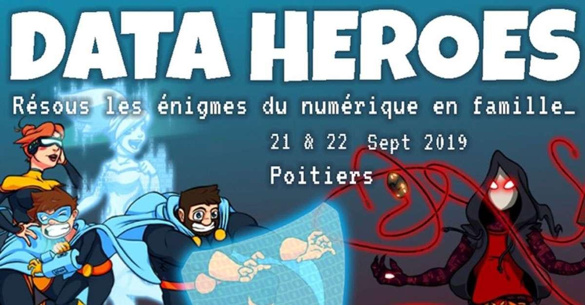 Journées EDUCNUM - Devenez un data héros et protéger votre vie numérique !