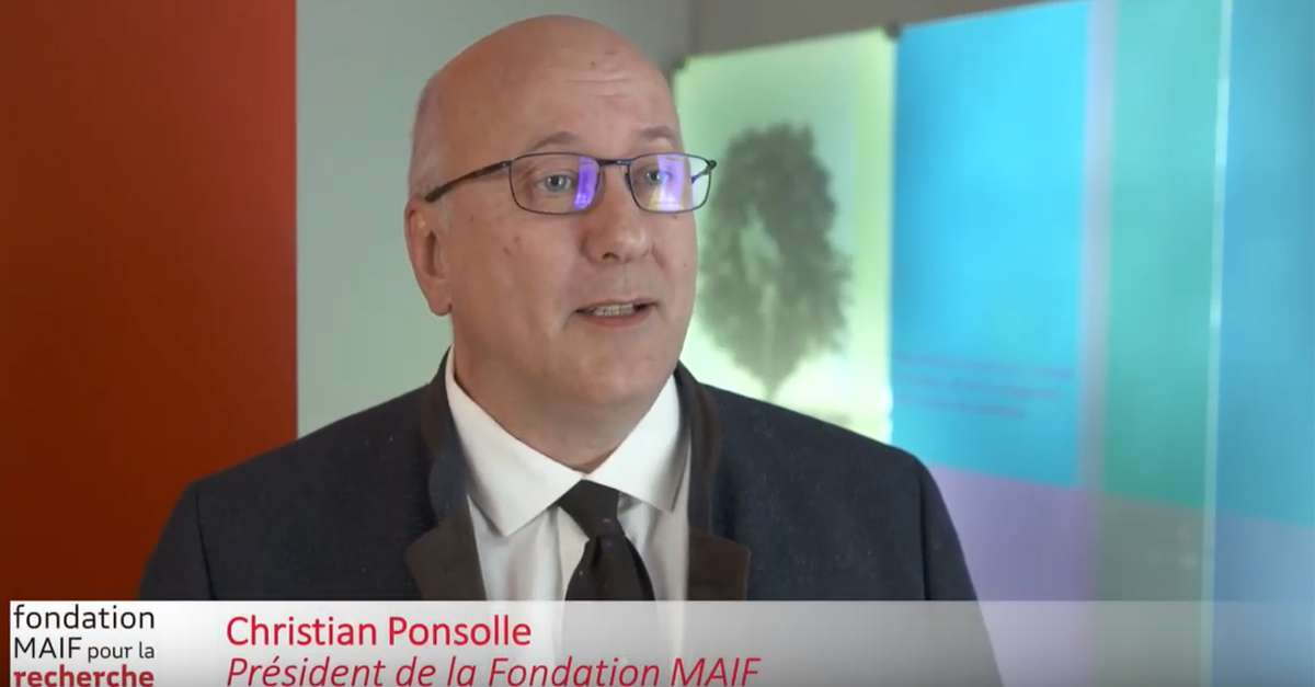 Christian PONSOLLE, président de la Fondation MAIF présente l'appel à projets 2020 de la Fondation MAIF