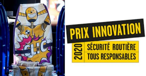 Les nudges remportent un Prix Innovation 2020 de la Sécurité Routière