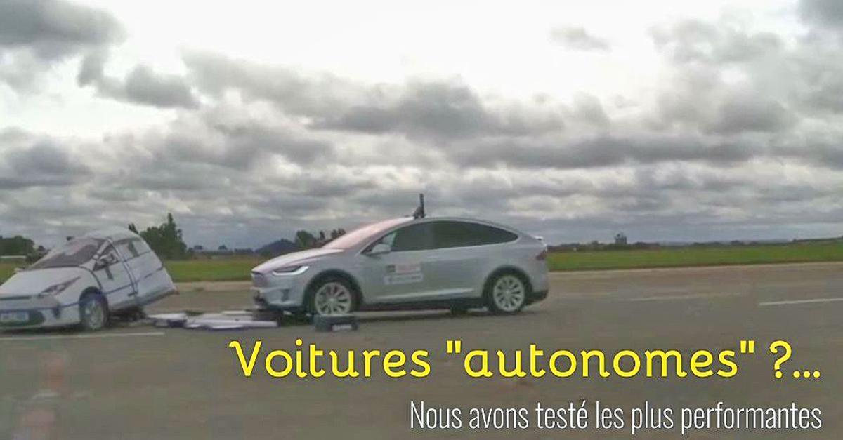 Des véhicules encore loin d'être autonomes