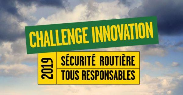 Challenge Innovation 2019 de la Sécurité routière !