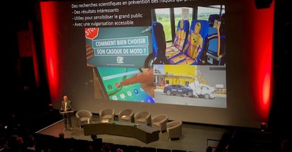 Festival du film de sécurité  - intervention de Marc Rigolot