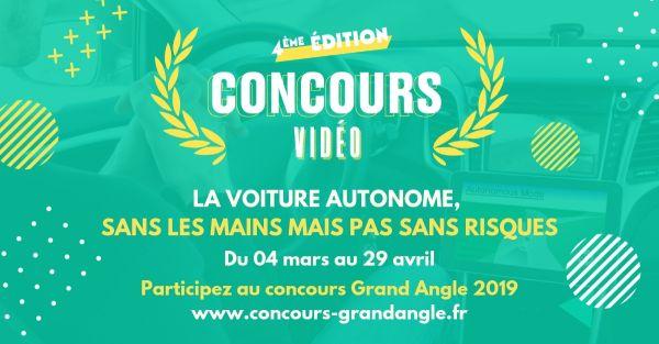 Lancement de la 4e édition du concours vidéo Grand Angle !