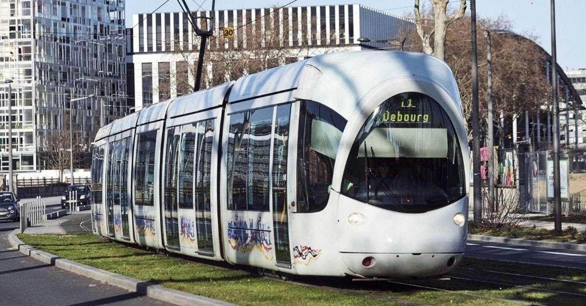 tramway à Lyon
