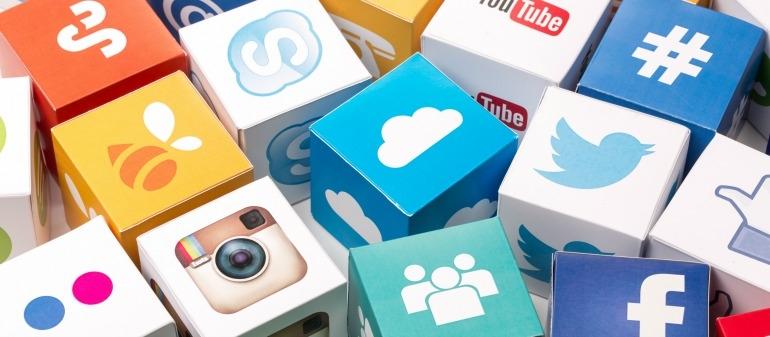 illustration des réseaux sociaux les plus populaires