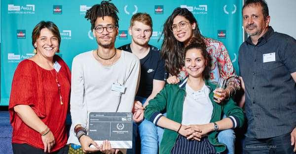 Podium des écoles – Lauréate du 1er Prix