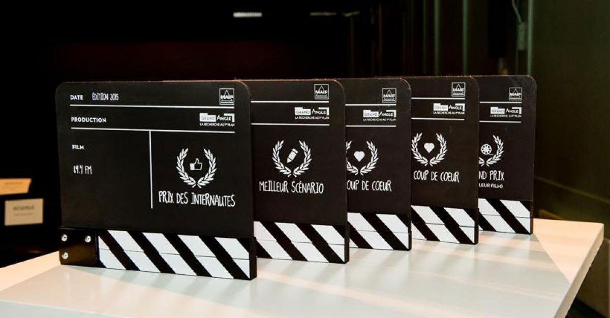 Et les lauréats de l'édition Grand Angle 2016 sont...