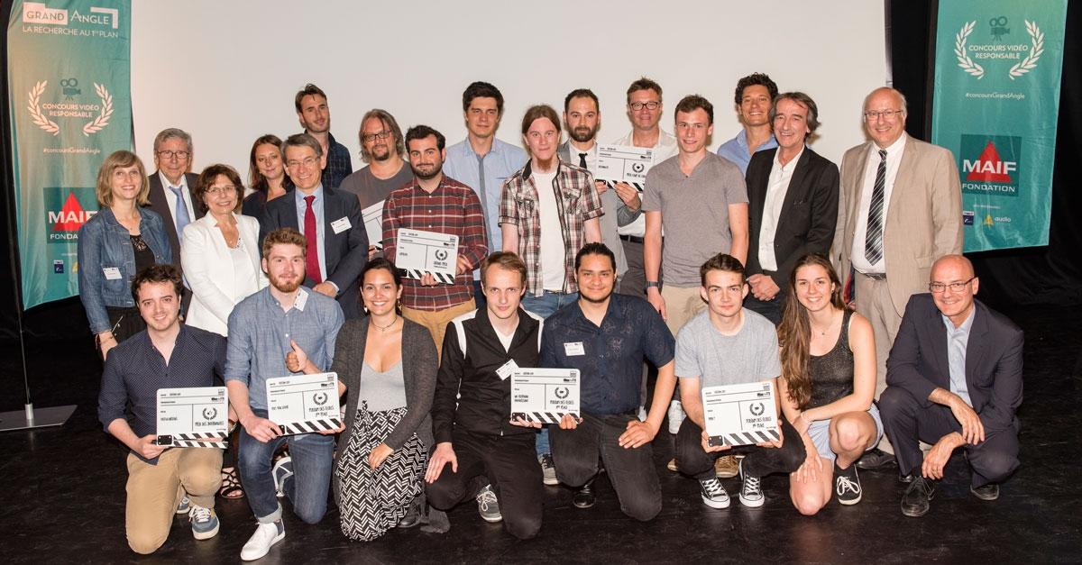 Lauréats du concours Grand Angle 2017