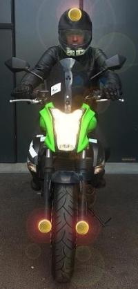Améliorer la visibilité des motocycles (AVIMOTO)